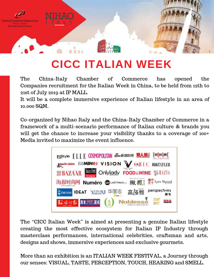 Past Events Italian Chamber of Commerce